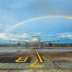 Qatar Airways inaugural flight to Krabi Thailand