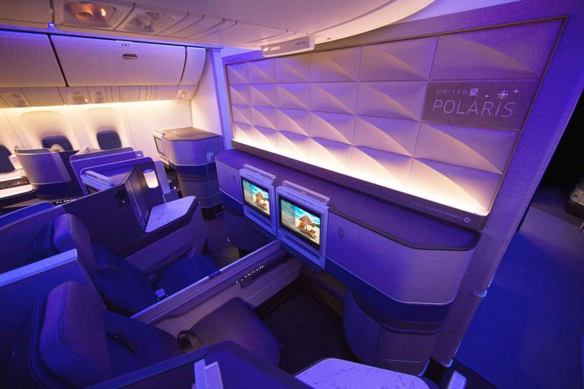 It's an early Christmas present for United with a new Polaris equipped B777