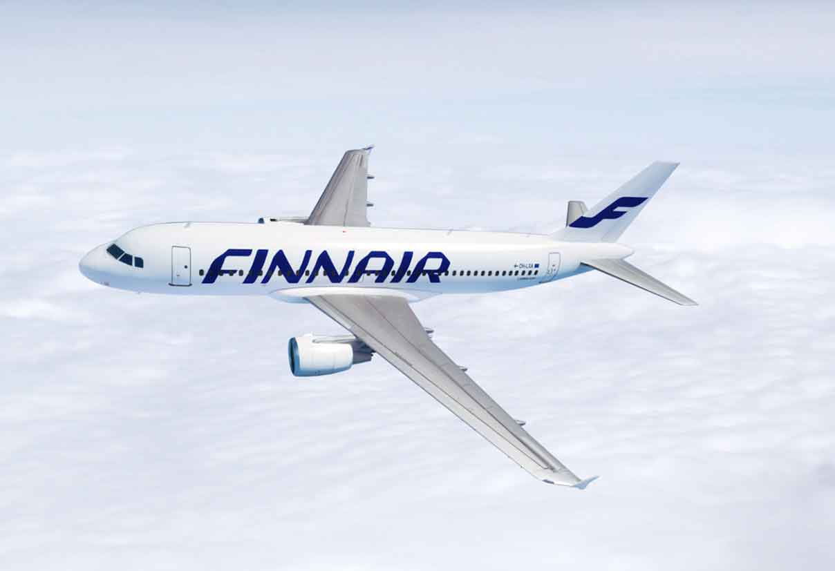 Finnair A320 Lapland Flights