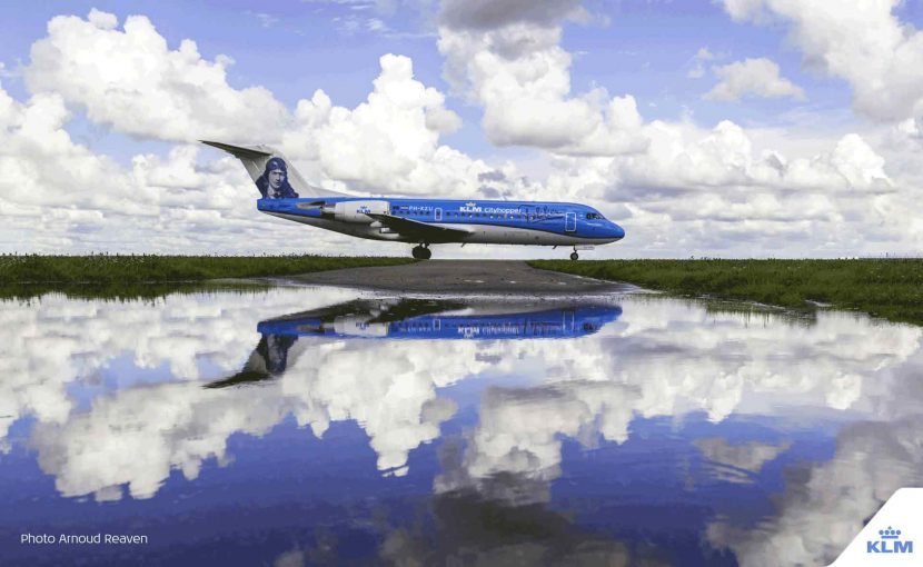 Fokker 70 final KLM Cityhopper commercial flights on 28th October #Avgeeks