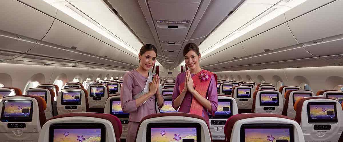 Thai Airways A350 starts flights between London and Bangkok