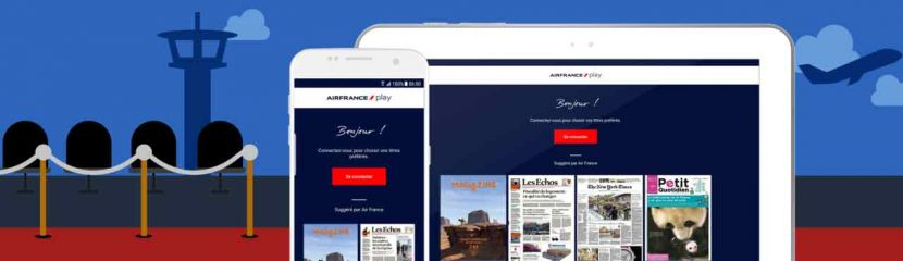 New Air France Play app provides inflight entertainment for passengers