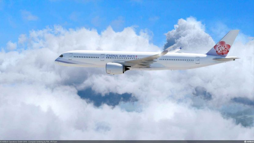 China Airlines Increases Non-Stop Gatwick Taipei Route with A350-900