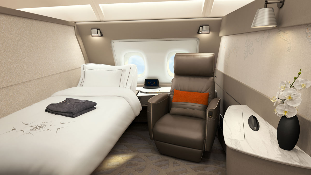 Singapore Airlines A380 Single Suite