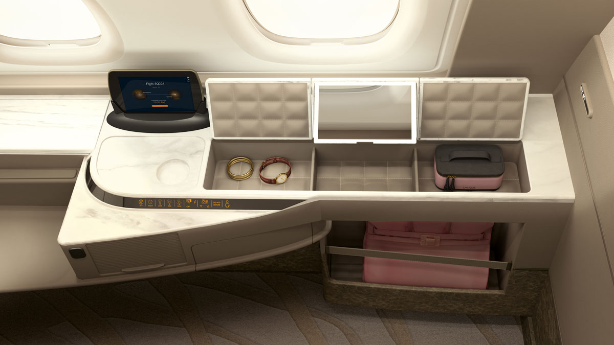 Singapore Airlines Airbus A380 Suites