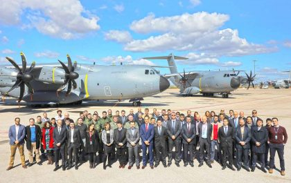 Double A400M Delivery Celebrates 20th Anniversary of OCCAR Convention