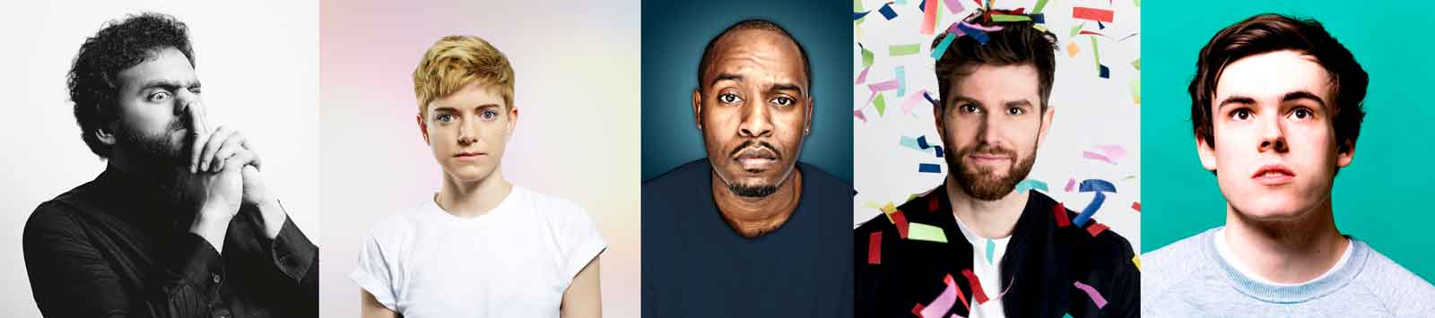 Edinburgh Fringe Festival Comedy with British Airways and Nish Kumar, Mae Martin, Joel Dommett, Rhys James and Dane Baptiste