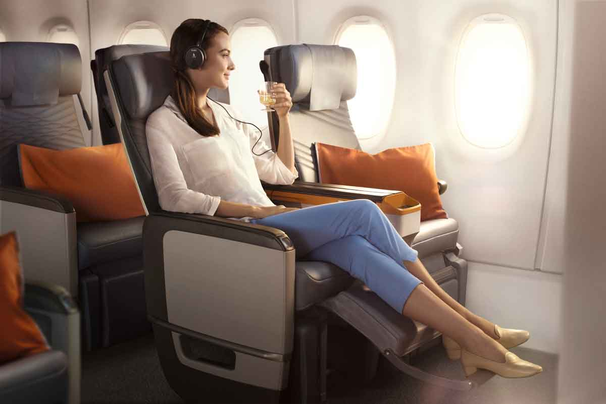 Singapore Airlines A350-900ULR Premium Economy Class Seat