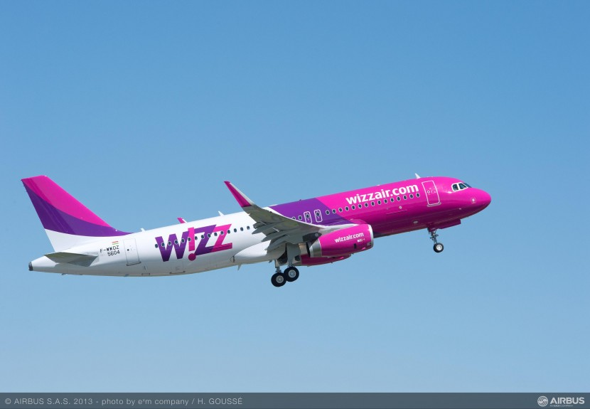 First Airbus Sharklet equipped A320 for Wizz Air Hungary