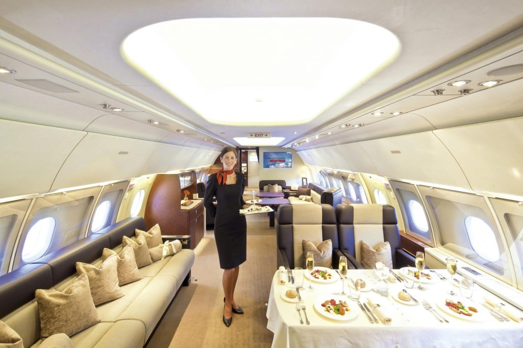Airbus ACJ318 Business Jet Cabin