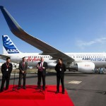 Airbus and AirAsia announced that the airline will become the first operator of a Sharklet-equipped A320 during the 2012 ILA Berlin Air Show