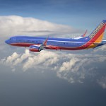 Boeing 737 MAX aircraft in launch customer Southwest Airlines livery