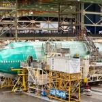 Boeing 747-8 Intercontinental being assembled