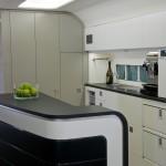 Boeing Business Jets 737 luxury BBJ cabin galley bar
