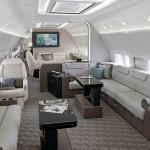Boeing Business Jets 737 luxury BBJ main cabin interior