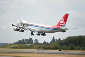 Boeing finally delivers first Cargolux 747-8 Freighter