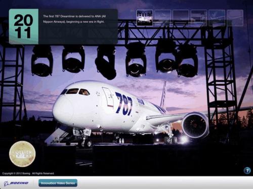 Boeing iPad App