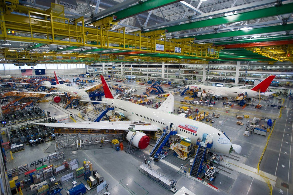 Boeing increase 787 Dreamliner aircraft production
