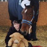Horse in PJs - British Airways has come to the aid of HorseWorld resident Gracie May