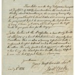 Captain James Cook manuscript
