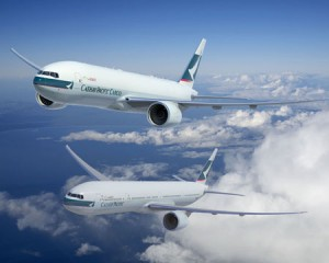 Cathay Pacific order 12 Boeing 777 freighter and 777-300ER passenger aircraft
