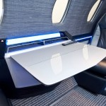 Cessna Citation Ten cabin table
