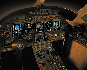 Cessna Citation X to get Honeywell Primus Elite avionics and cabin improvements for 2011