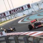 Etihad Abu Dhabi F1 Grand Prix with Hamilton and Vettel in 2009