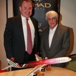 Etihad Airways signs four year extension Formula 1 Grand Prix sponsorship