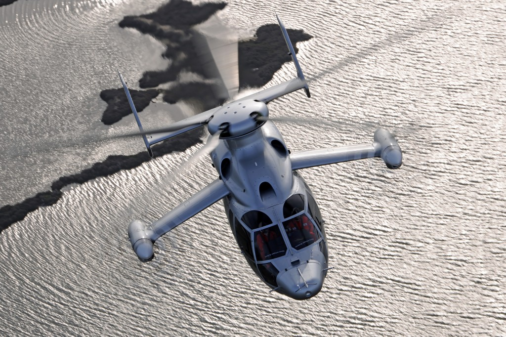 Eurocopter X3 during record speed flight