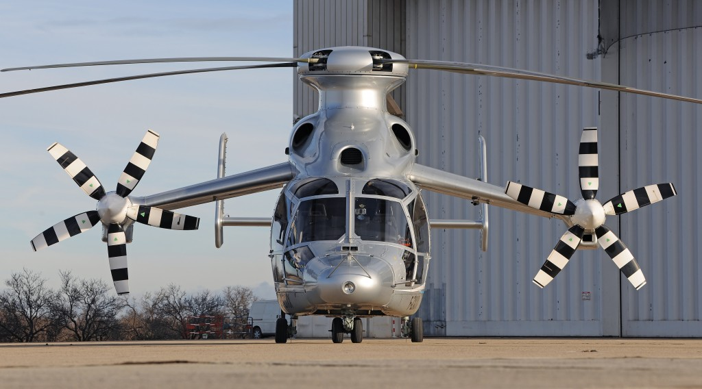 Eurocopter X3 ready for take-off