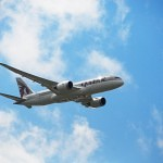 Farnborough Airshow 2012 Qatar Airways Boeing 787