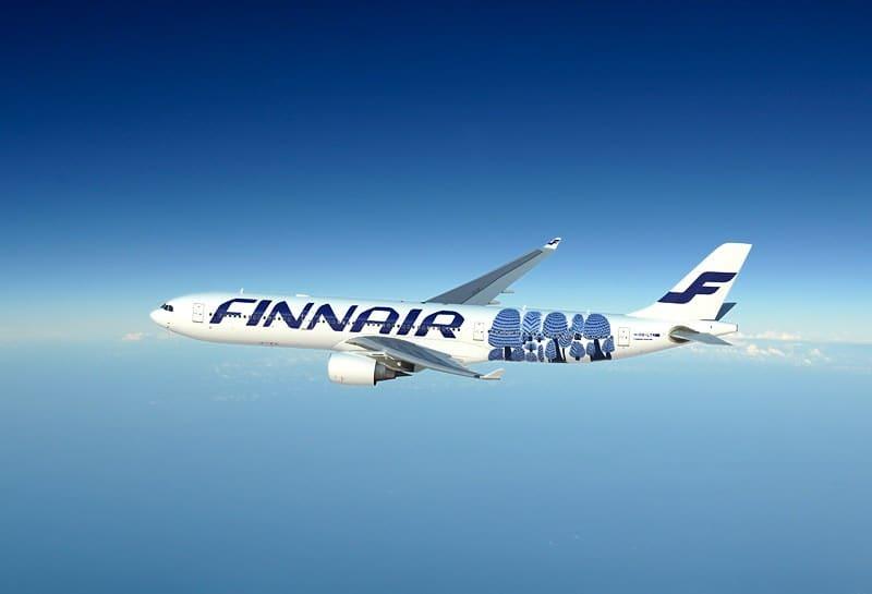 Finnair Airbus A330 with Marimekko livery