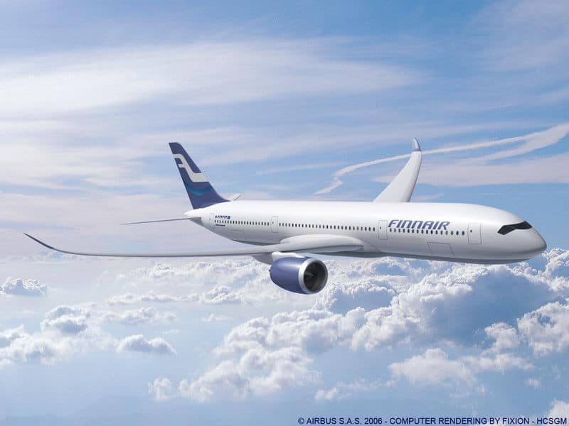 Finnair Airbus A350-900 to have fully flat seats in Business Class