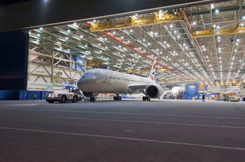 First Boeing 787 Dreamliner built at increased rate rolled out