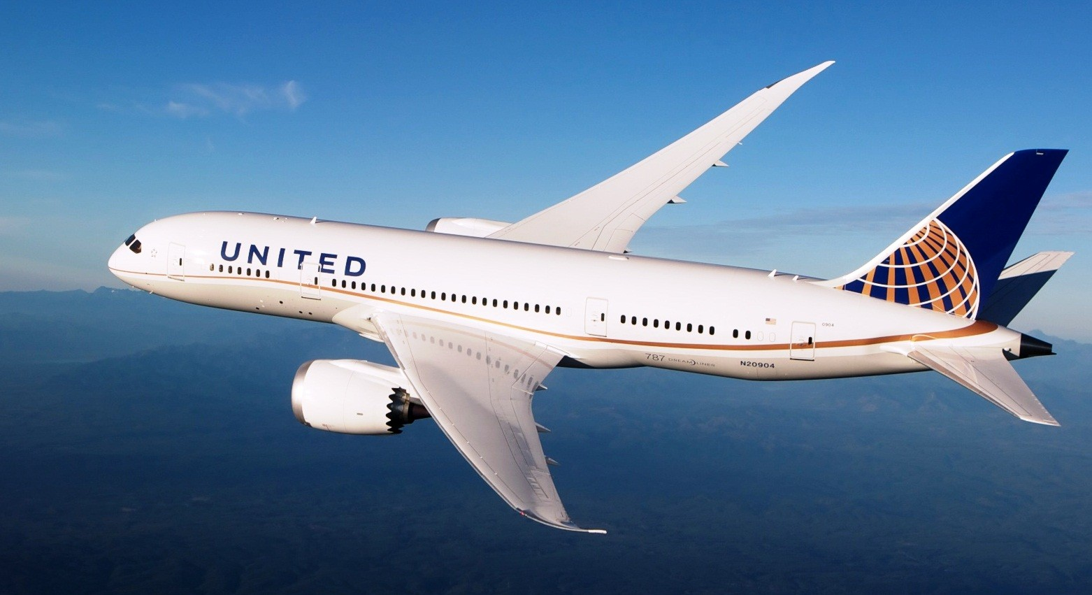 international flights for united airlines boeing 787