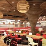 Giraffe restaurant concept for purpose built A380 facility at Dubai International Airport