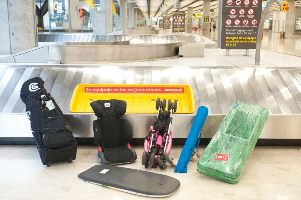 Iberia improves over-sized luggage delivery at Madrid Airport with special trays