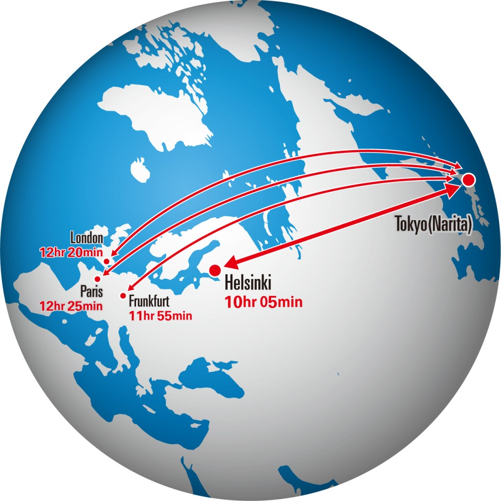 JAL launches direct Helsinki service