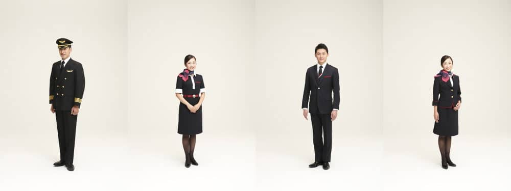 JAL unveils new Japan Airlines cabin crew and pilot uniforms
