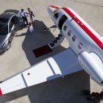JetSuite Phenom 100 then use the chauffeur