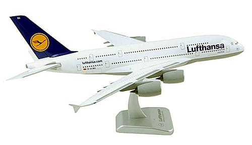 Lufthansa Airbus A380 scale model