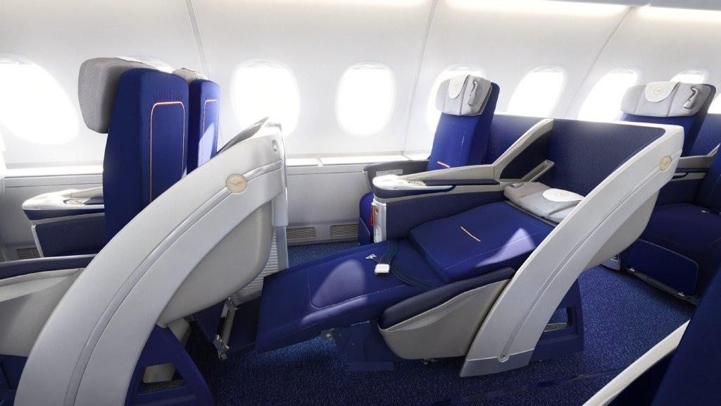 Lufthansa Airbus A380 Business Class Seat