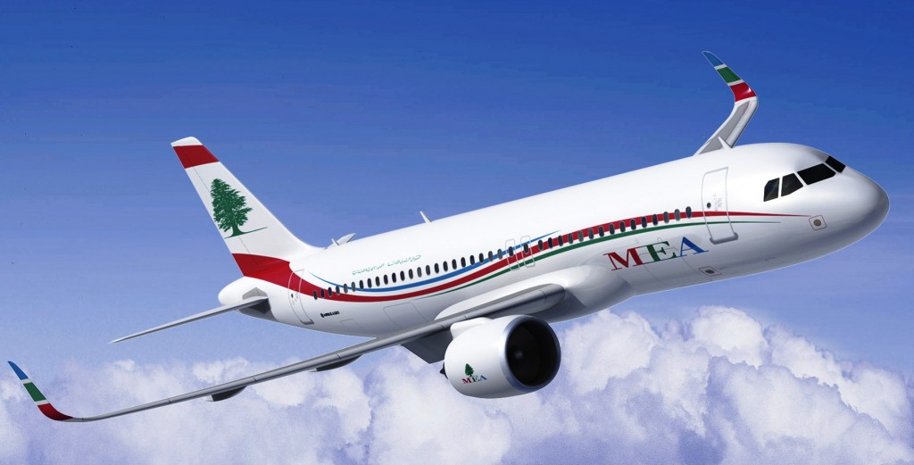 Middle East Airlines confirms Airbus order for ten A320neo aircraft