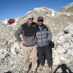 Mike Allsop ready for Mount Everest