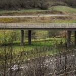 Much quieter than the motorway