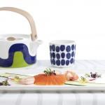 New Marimekko for Finnair tableware in Business Class