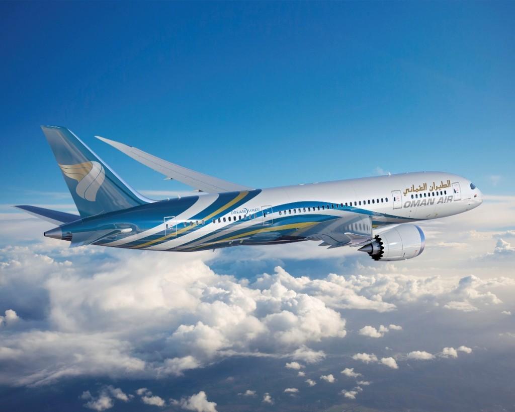Oman Air order Boeing 787-8 Dreamliners at Dubai Air Show