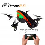 Parrot AR Drone 2.0 Orange and Green Outdoor Hull Flying Toy