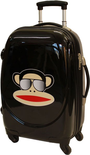 Paul Frank Monkey suitcase